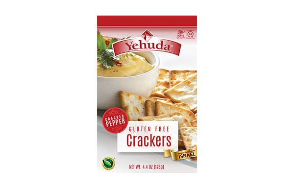 Yehuda Gluten free Crackers - Cracked Pepper