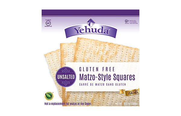 Yehuda Gluten Free Matzo-Style Squares - Unsalted