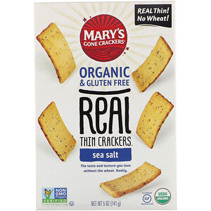 Marys Gone Crackers Sea Salt Thins