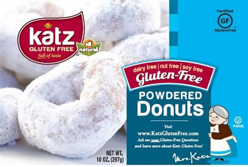 Katz Powdered Donuts - Gluten Free