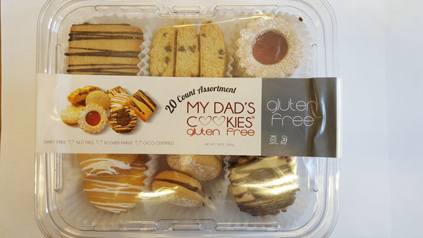 My Dad's Cookies Gluten Free Cookies Assortment Pack  **NEW**