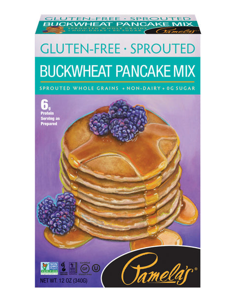 Pamelas sprouted buckwheat pancake ~~NEW~~