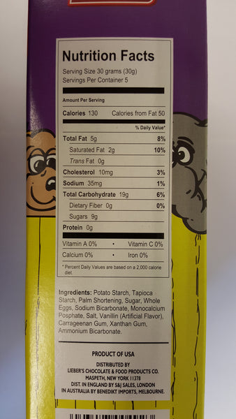 Liebers Animal Crackers Gluten Free **NEW**