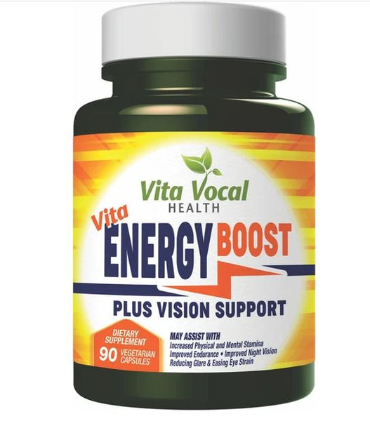 Vita Vocal Energy Booster Plus Vision Support