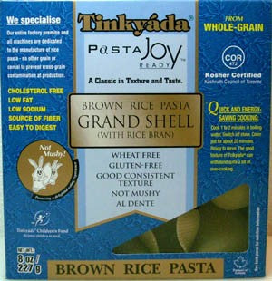 Tinkyada Brown Rice Shell Pasta