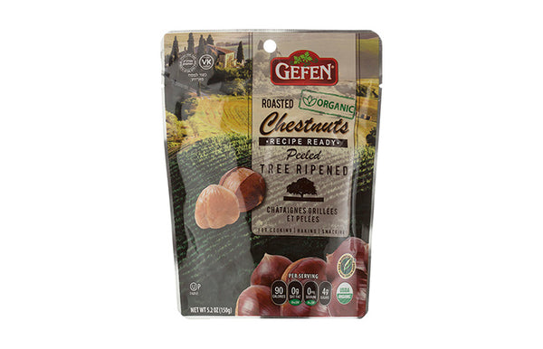 Gefen Organic Roasted Chestnuts