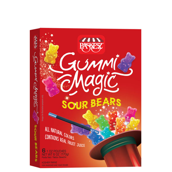 Paskesz Gummi Magic Sour Bears