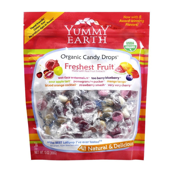 Yummy Earth Organic Freshest Fruit Drops