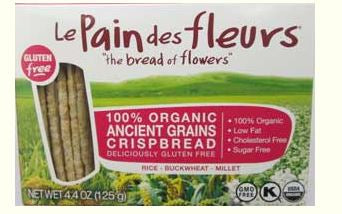 Le Pain de fleur Ancient Grains Gluten-Free Crispbread