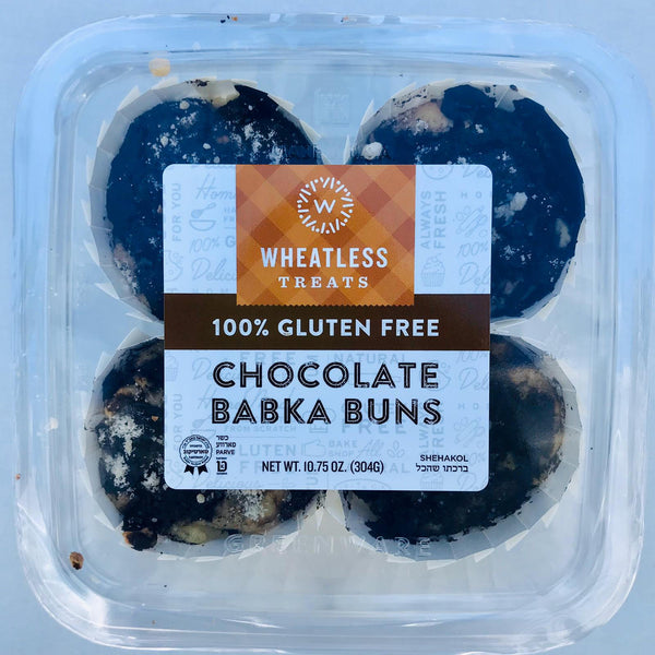 Wheatless Treats Chocolate Babka Buns