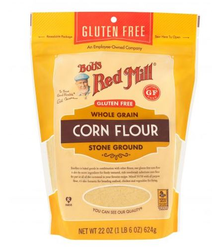 Bobs Red Mill Stone Ground - Whole Grain Corn Flour