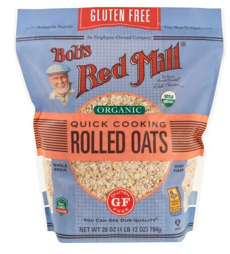Bobs Red Mill Gluten Free Quick Cooking Oats