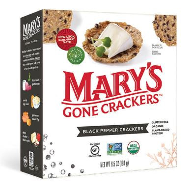 Marys Gone Crackers - Black Pepper