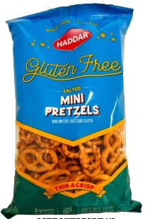 Haddar Gluten Free Mini Pretzel Twists