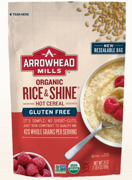 Arrowhead Mills Organic Rice & Shine Cereal