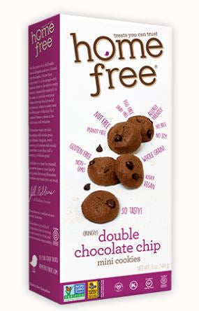 Home Free Mini Crunchy Double C. C. Cookies