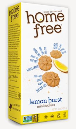 Home Free Lemon Burst Mini Cookies