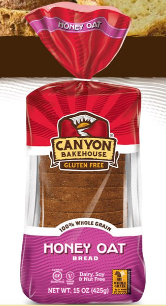 Canyon Bakehouse Gluten Free Honey Oat Bread