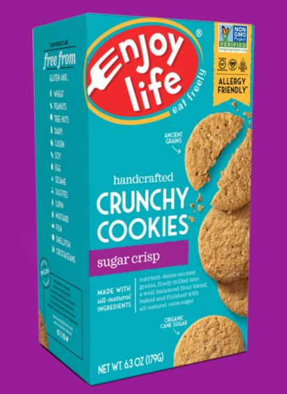 Enjoy Life Crunchy Sugar Cookies