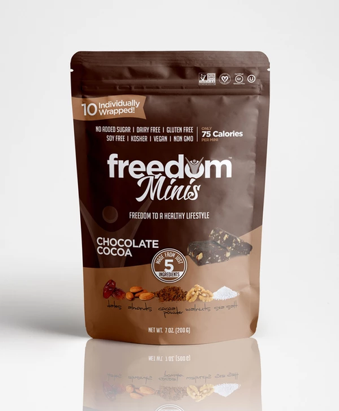Freedom Bar Chocolate Cocoa Minis 7oz