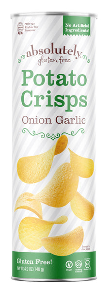 Absolutely Gluten Free Potato Crisps Onion Garlic