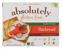 Absolutely Gluten Free Flatbread - Everything