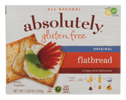 Absolutely Gluten Free Flatbread - Original