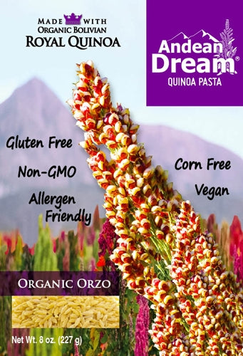 Andean Dream Organic Quinoa Orzo Pasta // NEW \\