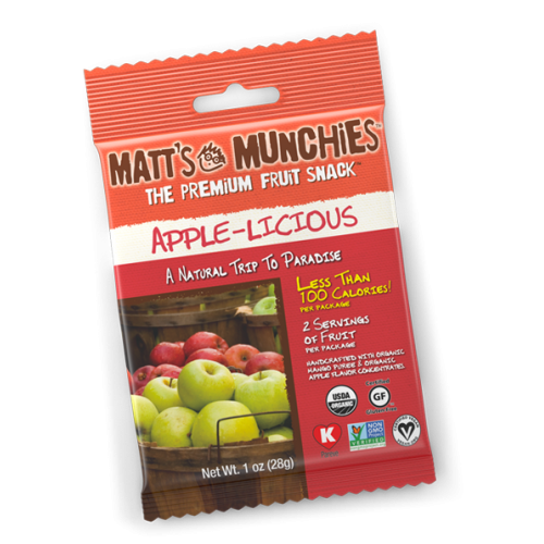 Matts Munchies Appel-licious Fruit Snack   * 3 Pack *