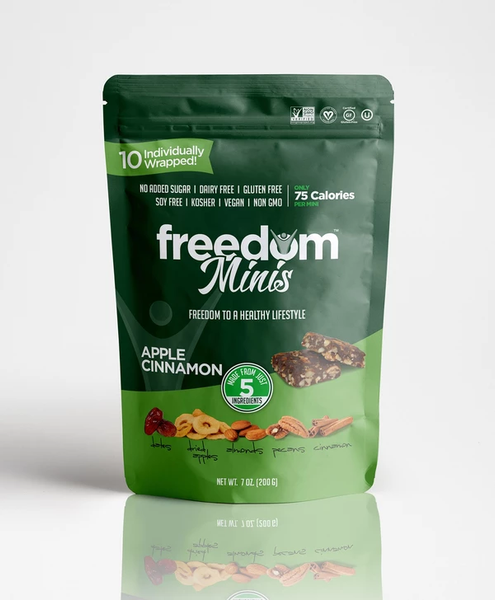 Freedom Bar Apple Cinnamon Minis 7oz