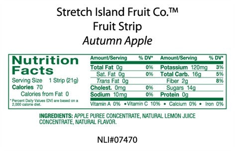 Stretch Island Fruit Leather - Autumm Apple {30 ct.}
