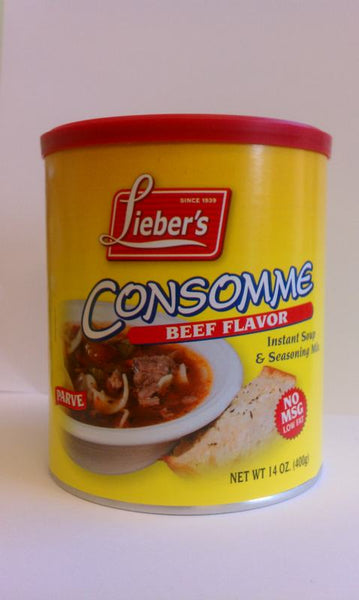 Liebers Beef Flavor Consomme NO MSG