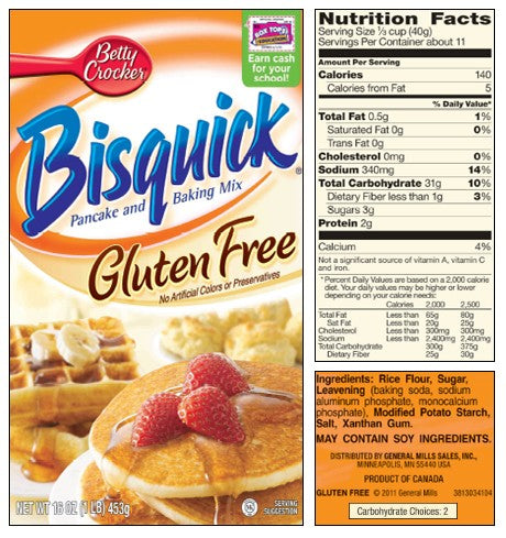 Betty Crocker Bisquick Pancake & Baking Mix