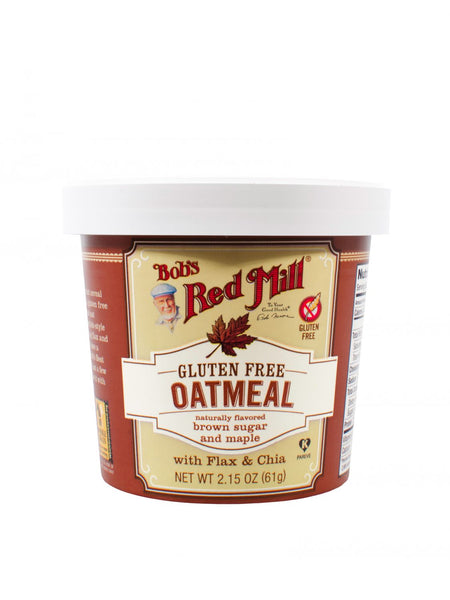 Bob's Red Mill Gluten Free Brown Sugar & Maple Oatmeal Cup