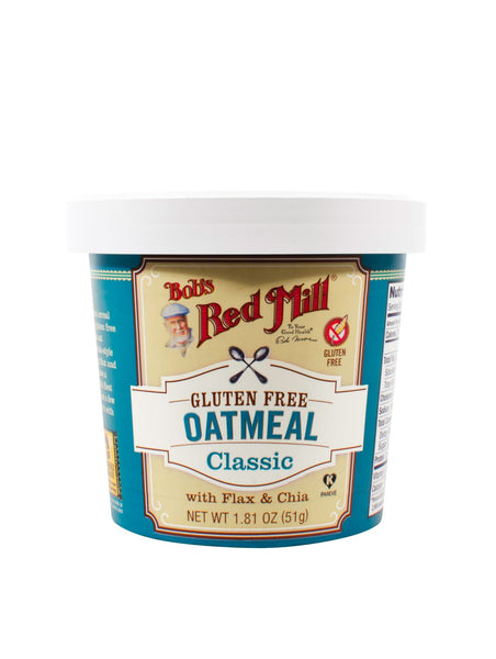 Bob's Red Mill Gluten Free Classic Oatmeal Cup