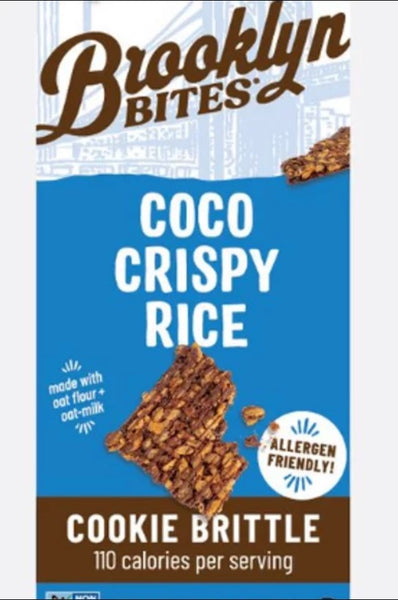 Brooklyn Bites Gluten Free Coco Crispy Rice Cookie Brittle