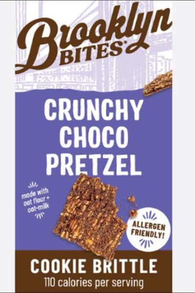 Brooklyn Bites Gluten Free Crunchy Choco Pretzel Cookie Brittle