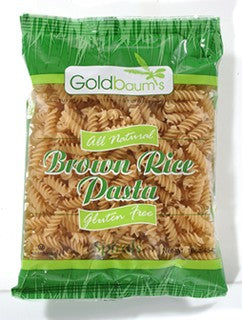 Goldbaum's Brown Rice Spiral Pasta