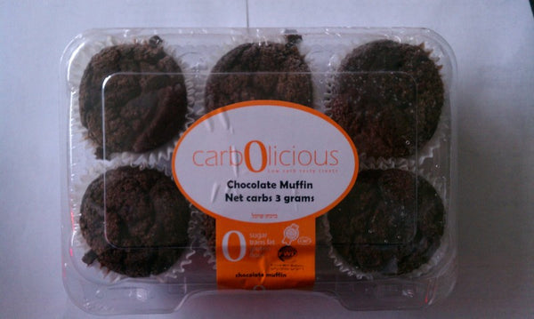 Carbolicious Chocolate Muffins * LOW CARB *