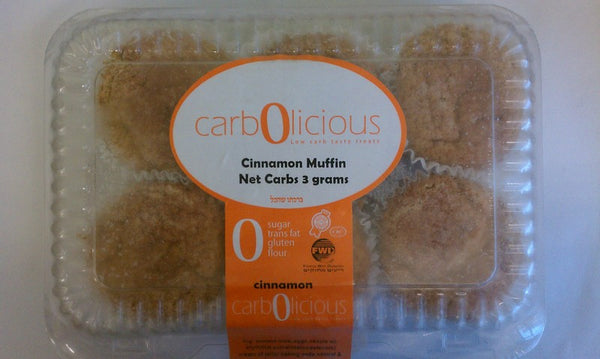 Carbolicious Cinnamon Muffins  * LOW CARB *