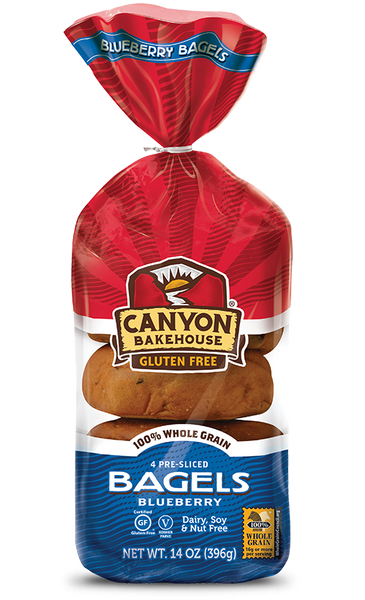 Canyon Bakehouse Gluten Free Blueberry Bagels