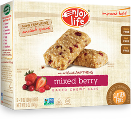 Enjoy Life Very Berry Chewy Snack Bars