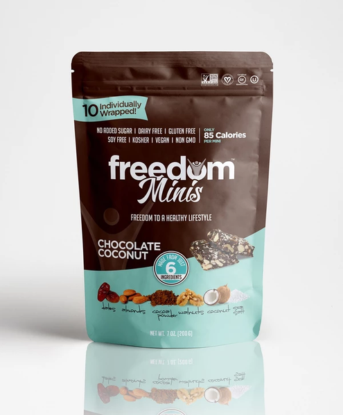 Freedom Bar Chocolate Coconut Minis 7oz