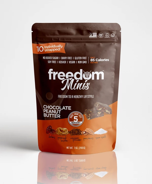 Freedom Bar Chocolate Peanut Butter Minis 7oz