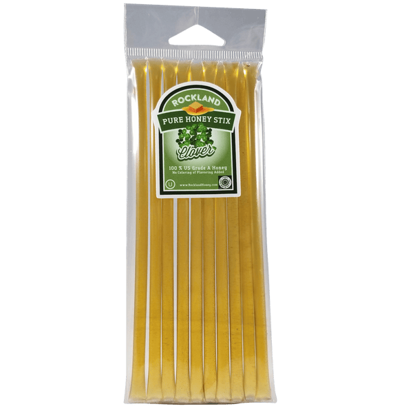 Rockland Honey Gluten Free Clover Honeystix - 10pc