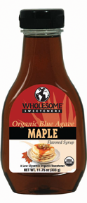 Organic Blue Agavi {Maple}