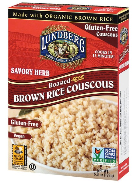 Lundberg Roasted Brown Rice Couscous - Savory Herb