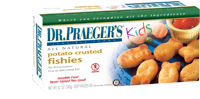 Dr. Praeger's Gluten Free Potato Crusted Fishies