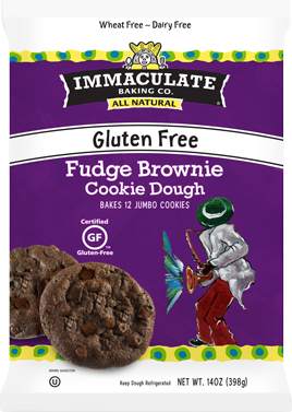 Immaculate Gluten Free Fudge Brownie Cookie Dough