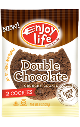 Enjoy Life Crunchy Mini  Double Chocolate Cookies